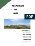 0000006722-HRM BHEL Assisnment