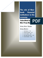 Contribution of Non Banking Financial Institutes in FInancial Systems