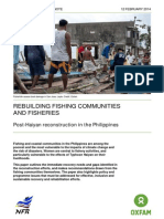 Rebuilding Fishing Communities and Fisheries
