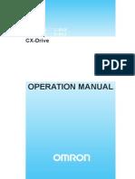 W453 E1 05+CX Drive+OperManual