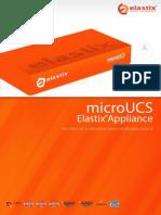 Volante Appliance MicroUCS