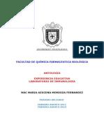 Antologia Para Laboratorio de Inmunologia