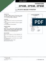 2p4m - 2a Plastic Molded Thyristor - Nec