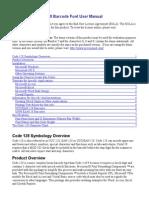 Code128 Barcode User Manual