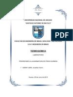 Informe Termoquímica - Final