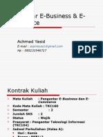 Tutorial Pengantar e Commerce