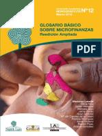 glosario básico de microfinanzas