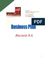Business Plan - Bucuria Sa