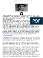 Tribute Pvt Ireneo Canales, Jr USA, KIA 11 Feb 1945