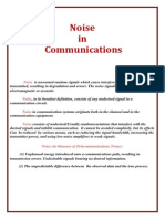 Noise in Communications