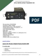 Analizor Digital Pentru Satelit Telemann 1600