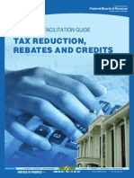 TaxReductions,RebatesandCredits