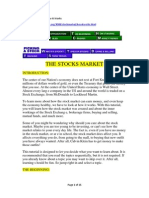 The Stock Market How It Works