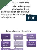 PENGERTIAN HEMATOM