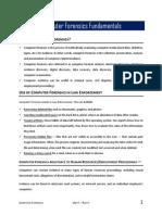 01 - Computer Forensics Fundamentals