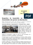 Suspeitos de homicídio na cidade de Juazeirinho são presos em Queimadas