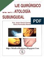 Abordaje Quirurgico de La Patologia Subungueal Garcia-Fernandez
