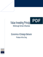 Value Investing Principles