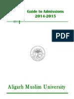 AMU Admissions Information Brochure
