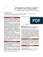 Aplicação de técnicas espectroscópicas e quimiometria no controle de