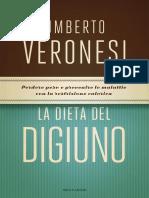 Veronesi Umberto - La Dieta Del Digiuno