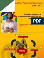 Orientaciones pastorales