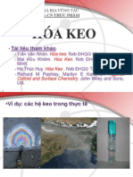 HOÁ KEO & CÁC HIỆN TƯỢNG BỀ MẶT-2010-2011