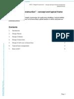 "Simple Construction"" - concept and typical frame arrangements"