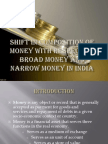 Broad money and narrow money