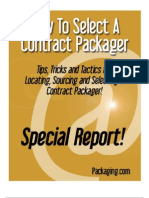 How to Select a Contract Packager