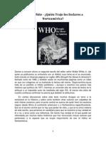 Walter White - ¿Quién Trajo los Esclavos a Norteamérica
