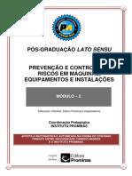 PREVENÇÃO E CONTROLE DE RISCOS EM MÁQUINAS, EQUIPAMENTOS E INSTALAÇÕES
