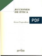 Lecciones de Etica - Tugendhat, Ernst