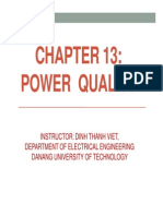 13. Chapter 13 Power Quality