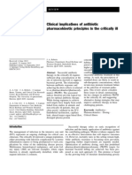 Clinical Implications of Antibiotic