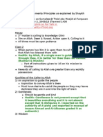 The Three Fundamental Principles_Class 2_October 2_2009