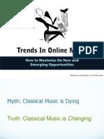 Trends in Online Music - Presentation