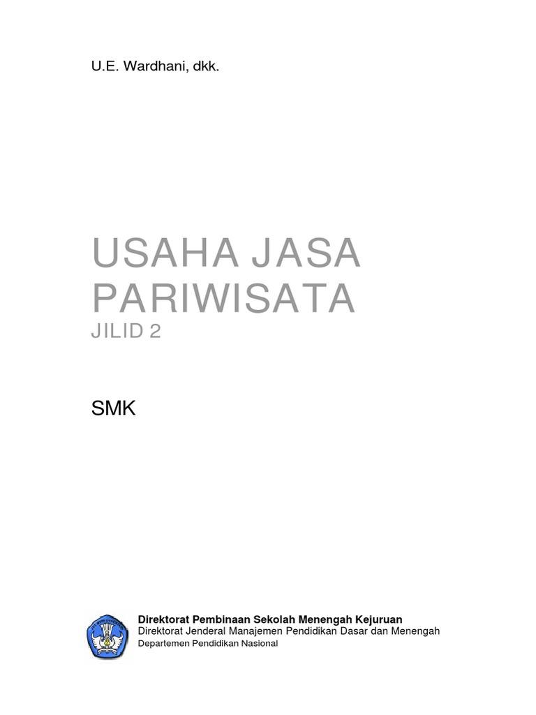 Jasa Pariwista Jilid 2 955c4ee789