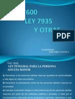 LEY 7600 Y 7935