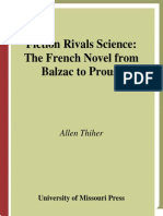 Allen Thiher Fiction Rivals Science the French Novel From Balzac to Proust 2001