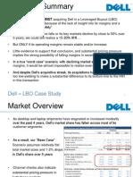 LBO DELL Presentation Case Study