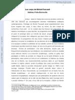 Les Corps de Michel Foucault.mathieu Potte-Bonneville