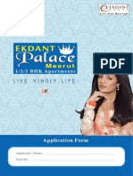 Ekdant Palace Application Form