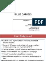 Billie Daniels case
