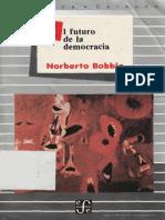 Bobbio El Futuro de La Democracia