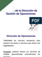 Función Gestión de Operaciones