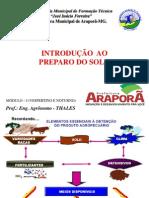 Apresentação1i ntrodução ao preparo de solo