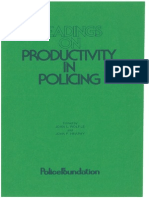 Wolfle, J. L. Et. Al. - Readings on Productivity in Policing