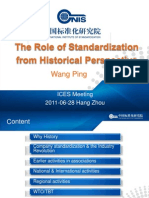 2_The Role of Standardization in Perspective of History