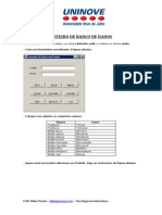 Roteiro Banco de Dados[1]